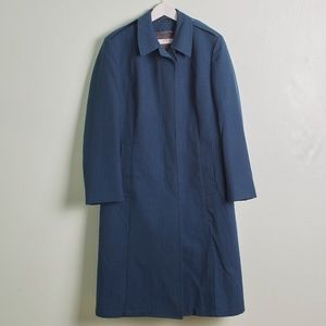 Vintage Freed & Freed Blue All Weather Coat